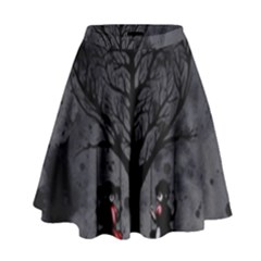 Love Tree High Waist Skirt by lvbart