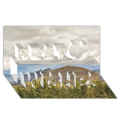 Ecuadorian Landscape At Chimborazo Province Best Wish 3d Greeting Card (8x4)  by dflcprints