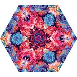 Fiona Floral Mini Folding Umbrella
