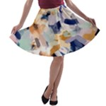 Lee Abstract A-line Skater Skirt