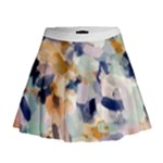 Lee Abstract Mini Flare Skirt