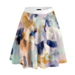 Lee Abstract High Waist Skirt