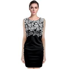 Tropical Plant Classic Sleeveless Midi Dress by olgart