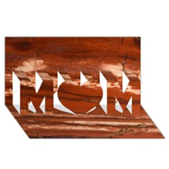 Red Earth Natural Mom 3d Greeting Card (8x4)  by UniqueCre8ion
