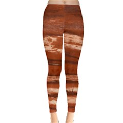 Red Earth Natural Leggings  by UniqueCre8ion