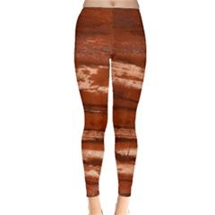 Red Earth Natural Winter Leggings  by UniqueCre8ion