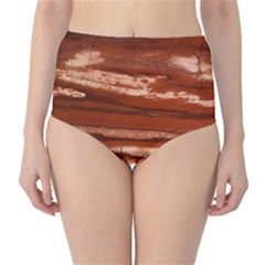Red Earth Natural High Waist Bikini Bottoms by UniqueCre8ion
