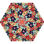 Alexa Floral Mini Folding Umbrella