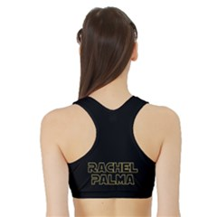 Women s Reversible Sports Bra with Border Outside Back
