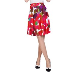 Abstract Land2 111 A-Line Skirt by BIBILOVER