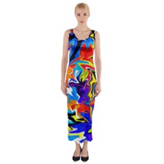 Ar000803 (3)11111 Fitted Maxi Dress