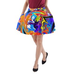 Ar000803 (3)11111 A Line Pocket Skirt by BIBILOVER