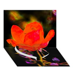 Red Beauty Heart Bottom 3d Greeting Card (7x5)  by MichaelMoriartyPhotography