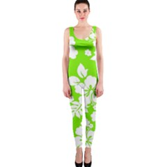 Lime Hawaiian Onepiece Catsuit by AlohaStore