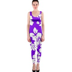 Violet Hawaiian Onepiece Catsuit by AlohaStore