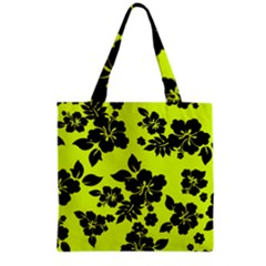 Dark Hawaiian Grocery Tote Bag by AlohaStore
