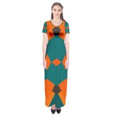 Short Sleeve Maxi Dress by LalyLauraFLM