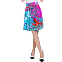Classic New York Cty1378il112 A-Line Skirt by BIBILOVER