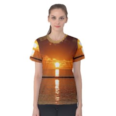 Sunset Women s Cotton Tee by Contest1880219