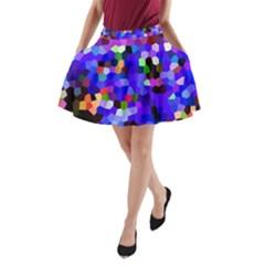 Ward A Line Pocket Skirt by BIBILOVER