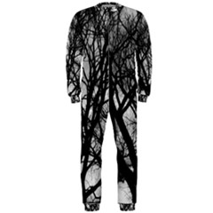 Winter Treescape OnePiece Jumpsuit (Men)  by RoseanneJonesPhotography