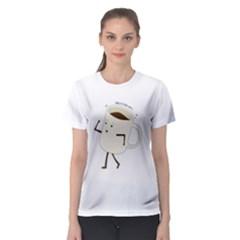 Ohayo Gozaimasu!  Women s Sport Mesh Tee by Contest2484469