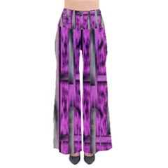 Purple Lace Landscape Abstract Shimmering Lovely In The Dark Pants