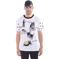 Cats Rule Men s Sport Mesh Tee by Contest2484741