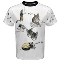 Cats Rule Men s Cotton Tee by Contest2484741