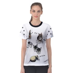 Cats Rule Women s Sport Mesh Tee by Contest2484741
