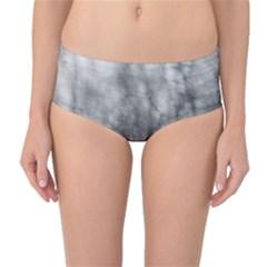 Obscure Mid-Waist Bikini Bottoms by RoseanneJonesPhotography