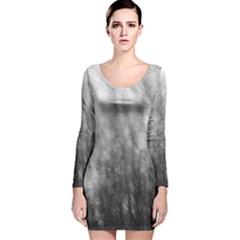 Obscure Long Sleeve Velvet Bodycon Dress by RoseanneJonesPhotography