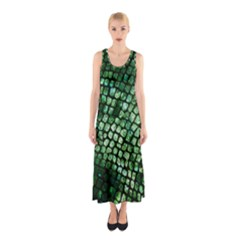 Dragon Scales Sleeveless Maxi Dress by KirstenStar
