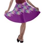 Elegant1 A-line Skater Skirt