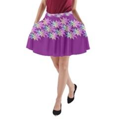 Elegant1 A Line Pocket Skirt by olgart
