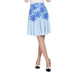 Elegant2 A-Line Skirt by olgart