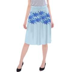 Elegant2 Midi Beach Skirt by olgart