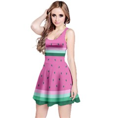 Watermelon Reversible Sleeveless Dress by olgart
