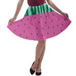 Watermelon A-line Skater Skirt
