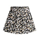 Charcoal Confetti Mini Flare Skirt