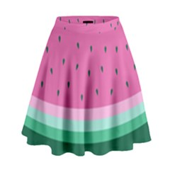 Watermelon High Waist Skirt by olgart