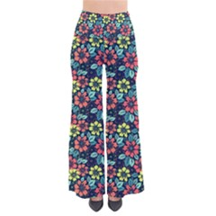 Tropical flowers Pants by olgart