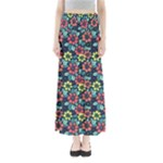 Tropical flowers Maxi Skirts