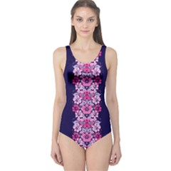Floral chic One Piece Swimsuit by olgart