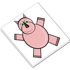 Pink Rhino Small Memo Pads by Valentinaart