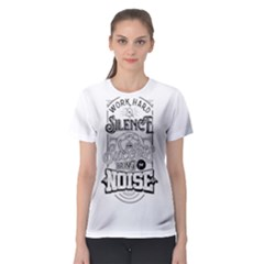 Work Hard Women s Sport Mesh Tee by Contest2492401