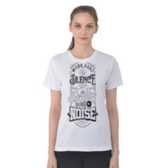 Work Hard Women s Cotton Tee by Contest2492401