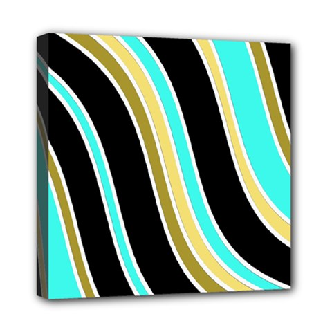 Elegant Lines Mini Canvas 8  X 8  by Valentinaart