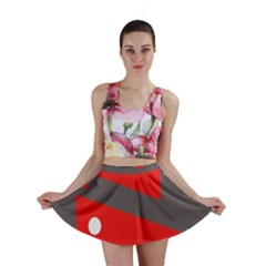 Decorative Abstraction Mini Skirt by Valentinaart