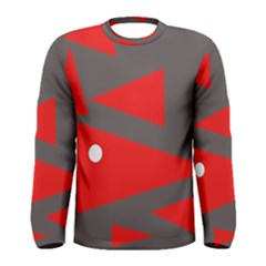 Decorative Abstraction Men s Long Sleeve Tee by Valentinaart